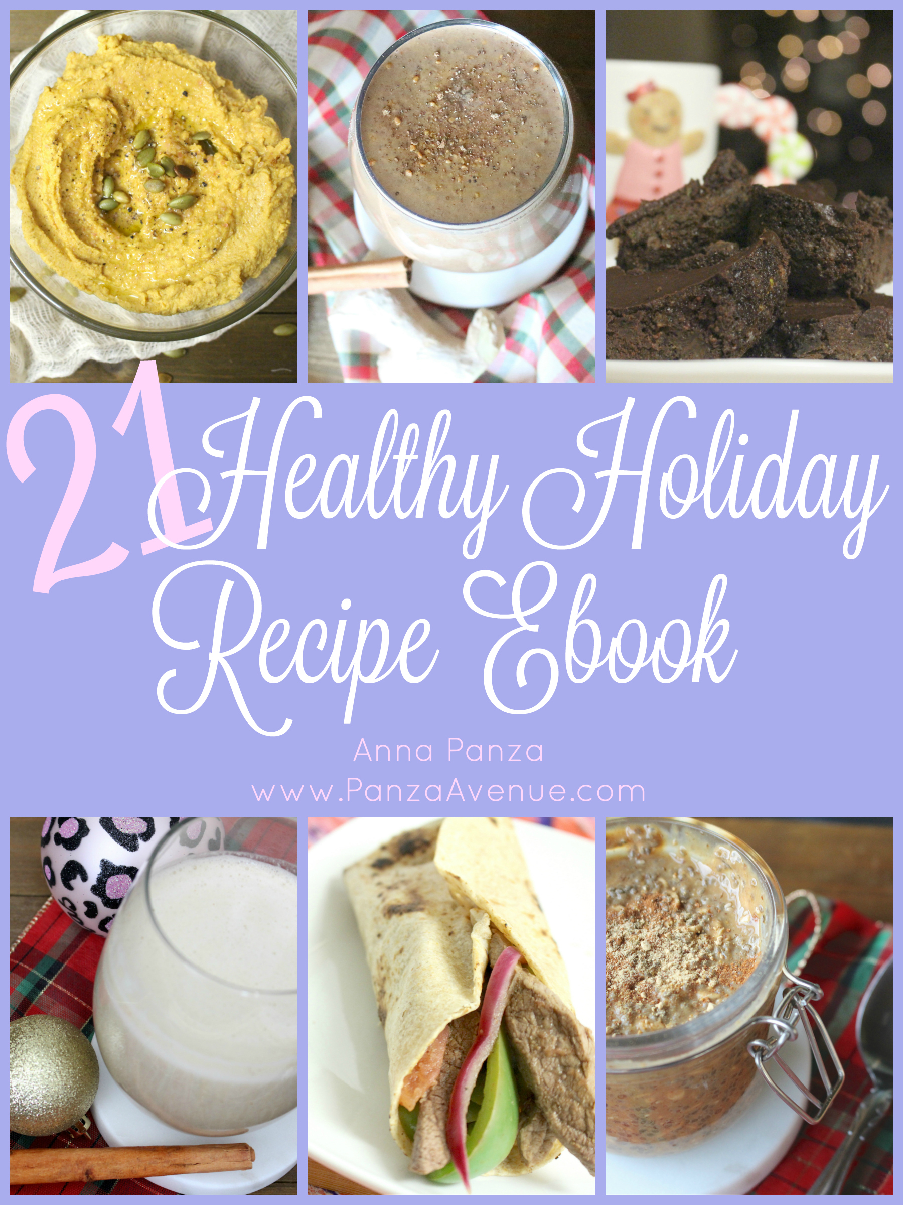 Free 21 Healthy Holiday Ebook download