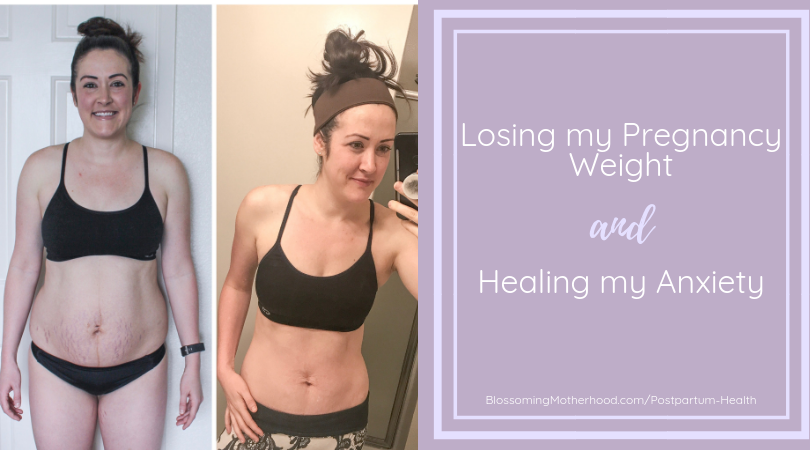 Using food and superfoods to heal my postpartum anxiety. Losing weight postpartum with whole foods and superfoods.