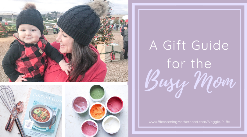 A list of gifts to buy for your favorite busy mom and her little ones. This list is for you if you are looking for the perfect gift for a busy mom.