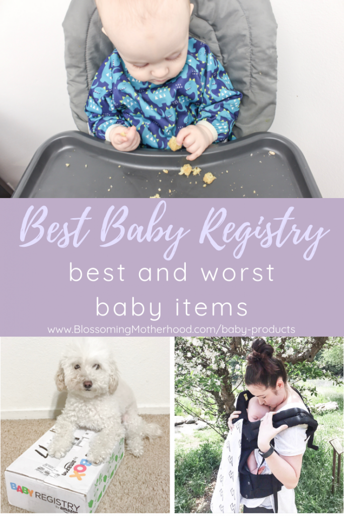 A complete list of the things that were a waste of money in baby's first year. Check out this post for ideas about what to put on your registry. A practical list of what you need during baby's first year. Baby registry for first baby.