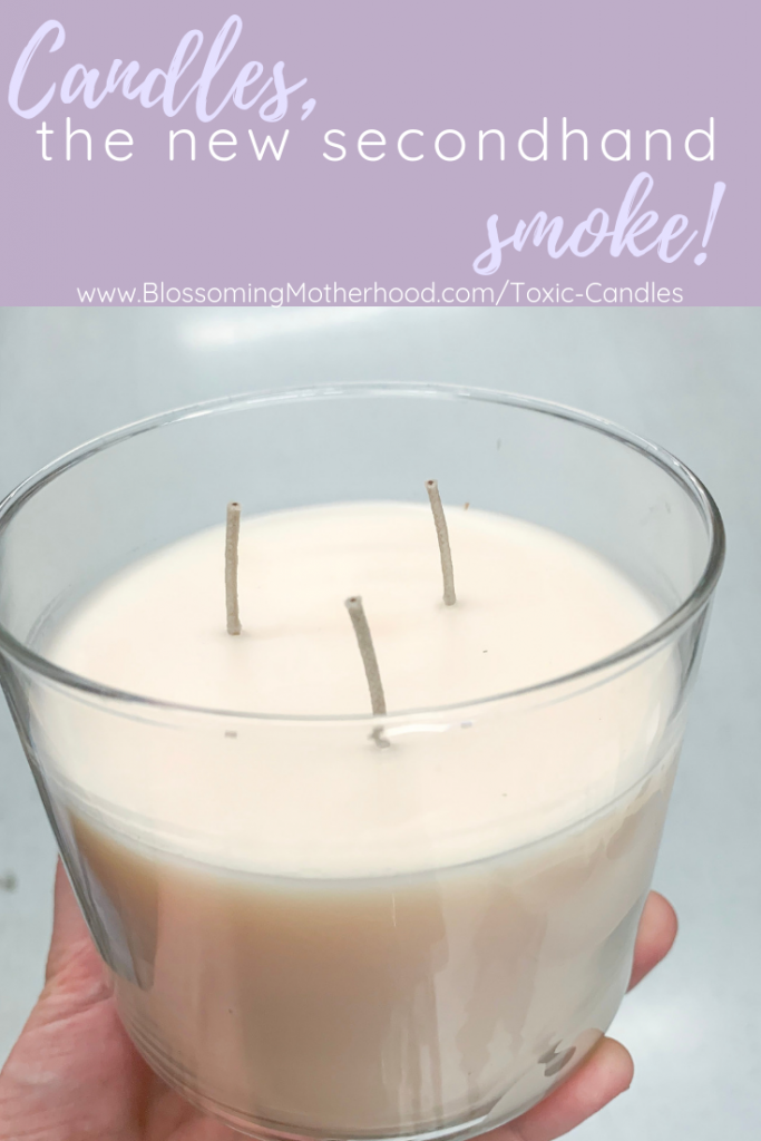 Did you know that candles and wall plugins can be toxic to you and your family? I share why fragrance is harmful and natural solutions to freshen your home. Non-toxic tips for making your home smell good. Non-toxic home.