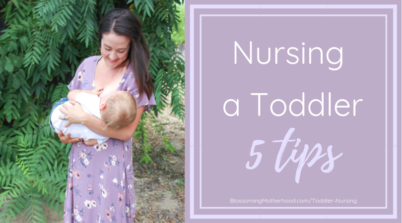 Tips for full term nursing. How to nurse a toddler. Sharing tips for nursing toddlers. Nursing outfits. Breastfeeding friendly outfits. 5 Tips for Nursing a toddler