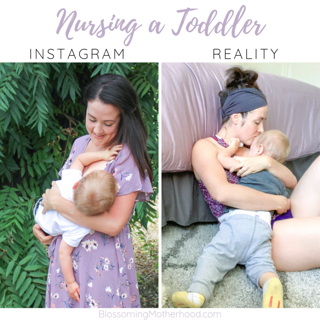 Tips for full term nursing. How to nurse a toddler. Sharing tips for nursing toddlers. Nursing outfits. Breastfeeding friendly outfits. Immune factors in Breastmilk increase in concentration during the second year and during the weaning process.