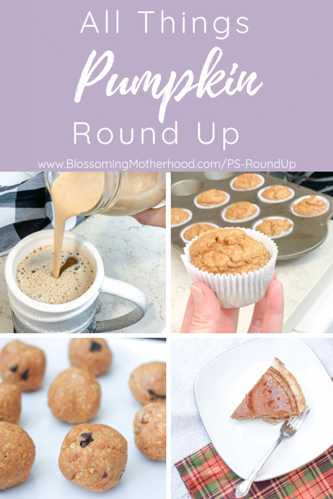 Healthy pumpkin spice recipes for fall! A roundup of my favorite pumpkin recipes that won't give you any guilt! Guilt free pumpkin recipes!