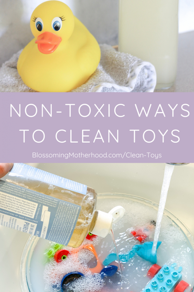 It is so simple to clean your kids toys easily, without any harmful chemicals or toxins. I am sharing three non-toxic toy cleaning solutions for your home. Do it yourself recipe for non-toxic cleaning solution.