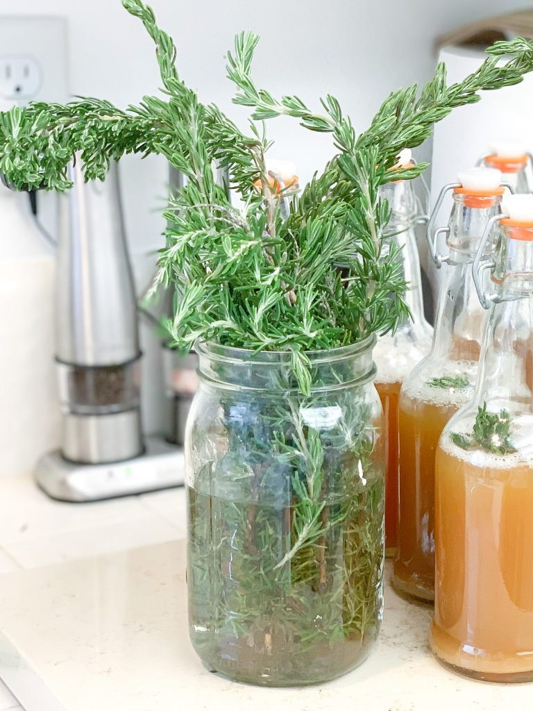 Today I am going to share with you how to make dried rosemary seasoning. With just some fresh rosemary, you can make your own rosemary herb seasoning.