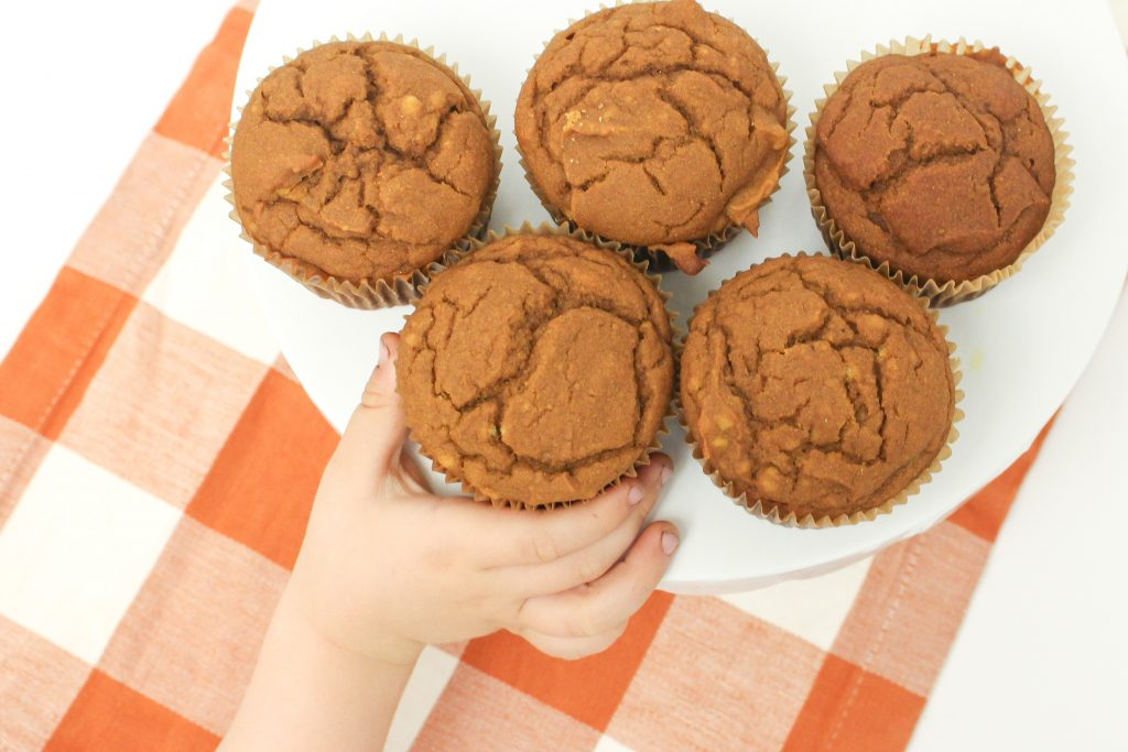 Gluten free pumpkin sourdough muffin recipe makes moist, cake like muffins full of fall flavor. This recipe is entirely gluten and dairy free.