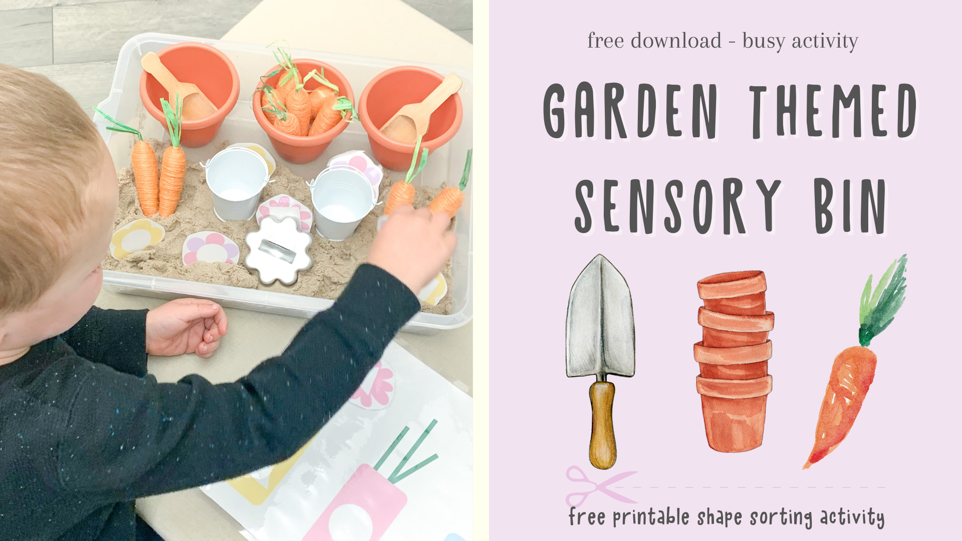 learning experience using the free flower vase shape sorting download. preschool at home learning activities. spring activity ideas for preschool. Spring downloads for preschool.
